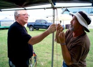 Puttin up the tent
