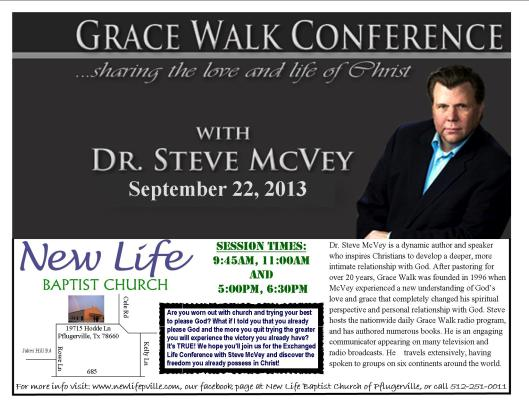Grace Walk Conference Flyer JPEG
