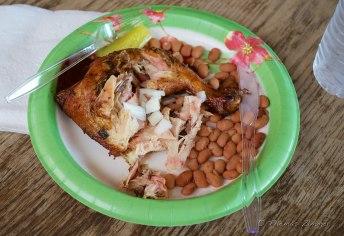 Wonderful BBQ chicken.