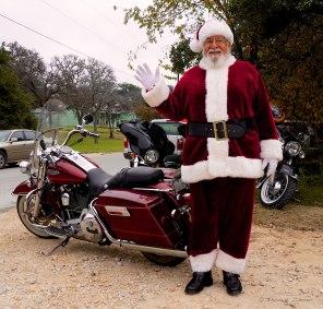 Santa was friendly