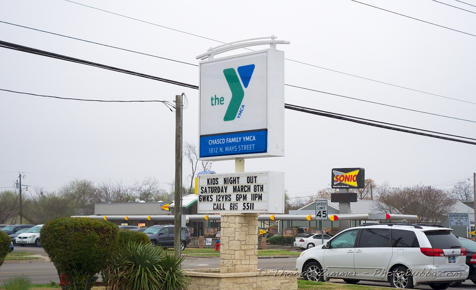 Sunday at HCBC at Chasco YMCA in Round Rock | Tom Zimmer