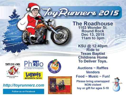 ToyRunnerz Flyer 2015