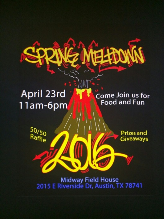 SpringMeltdown flyer